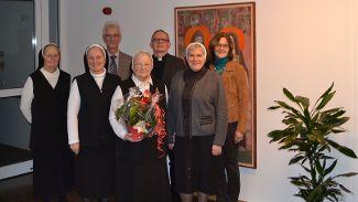 Sr. Vita Breitsameter feiert ihren 80. Geburtstag