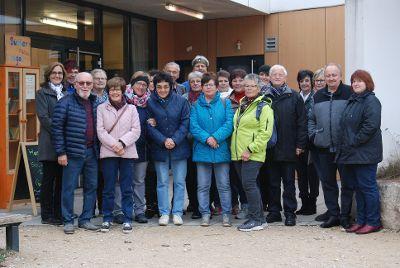 Ehrenamtliche Mitarbeiter besuchen Umweltstation