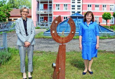 Europaabgeordnete Marlene Mortler zu Besuch in Zell