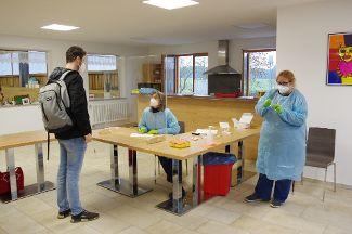 Covid-19 Testungen für alle Mitarbeitenden  bei Regens Wagner Zell